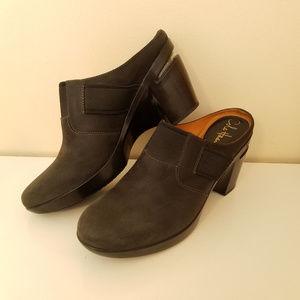 Cole Haan  Nike Air Sara Leather Platform Mule